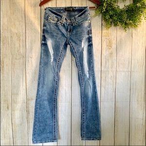 Premier Denim. Light wash denim Jeans. Size 0